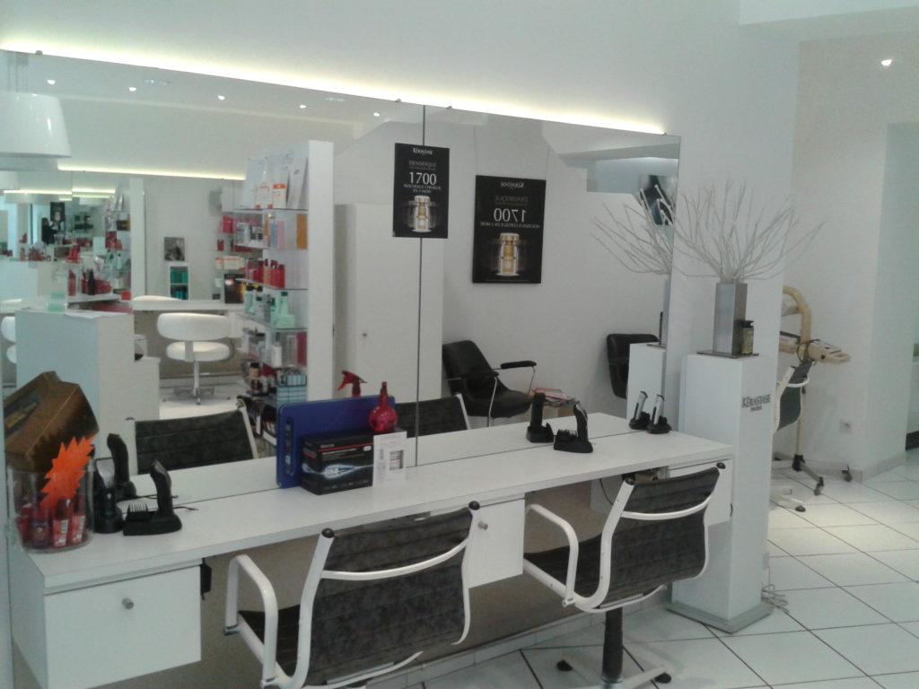 Agencement salon de coiffure le cheylard