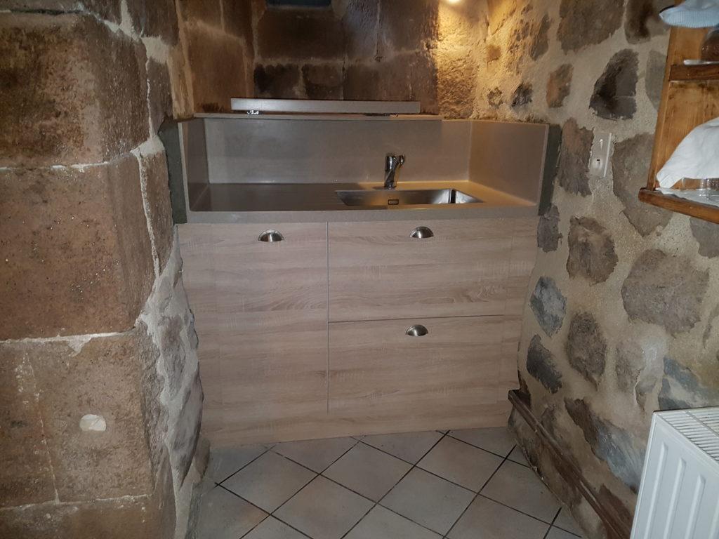 Fabrication sur mesure de mobilier de cuisine en Ardèche