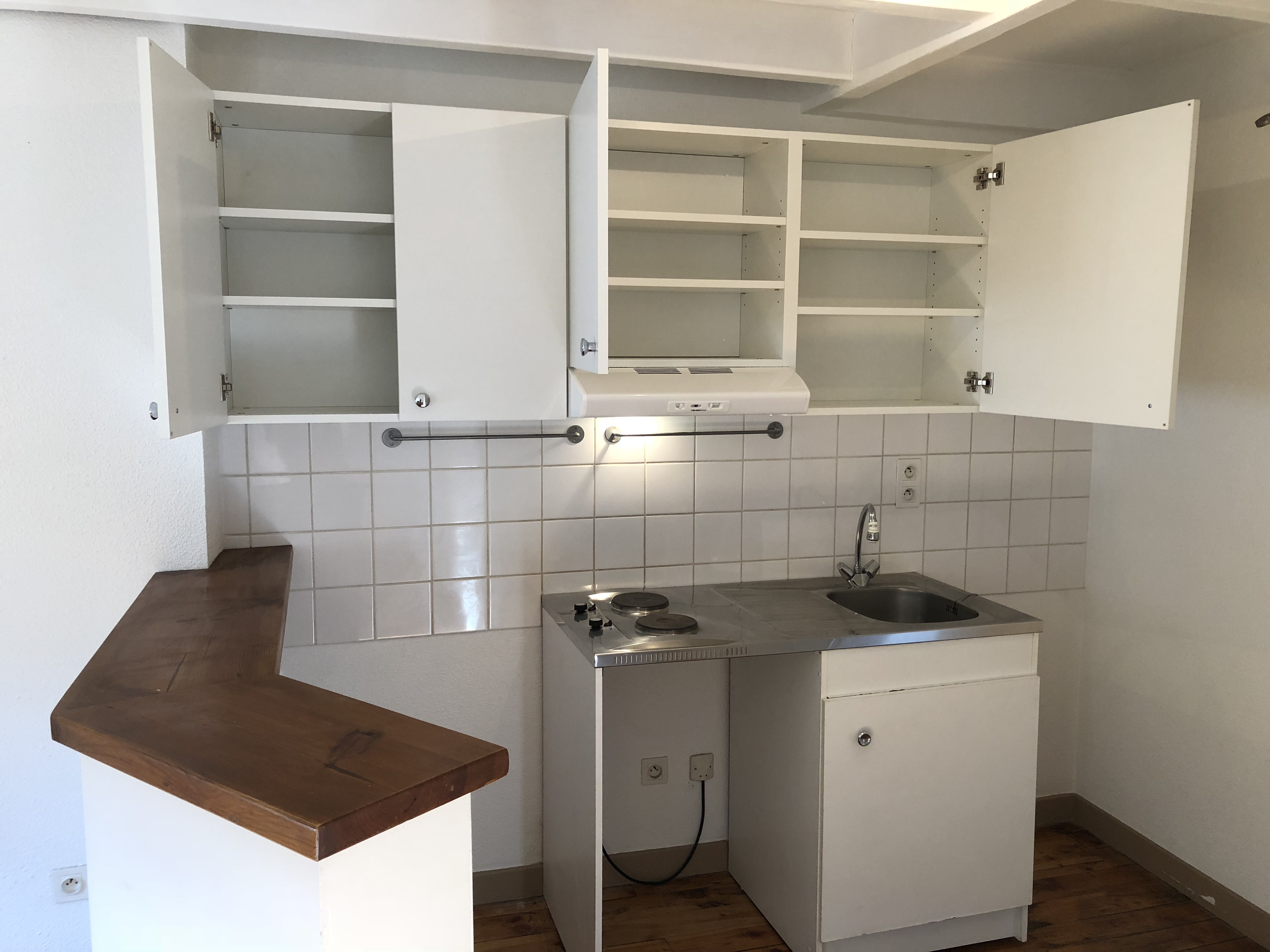 Meuble haut pour petite cuisine md design - Meubles pour petite cuisine ...