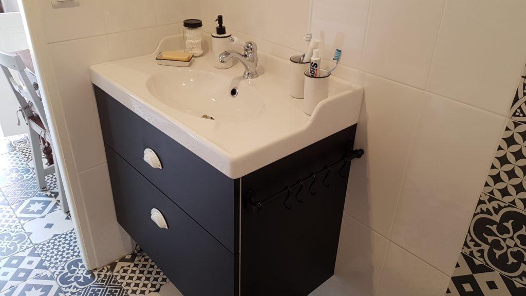 Meuble sous-vasque sur mesure