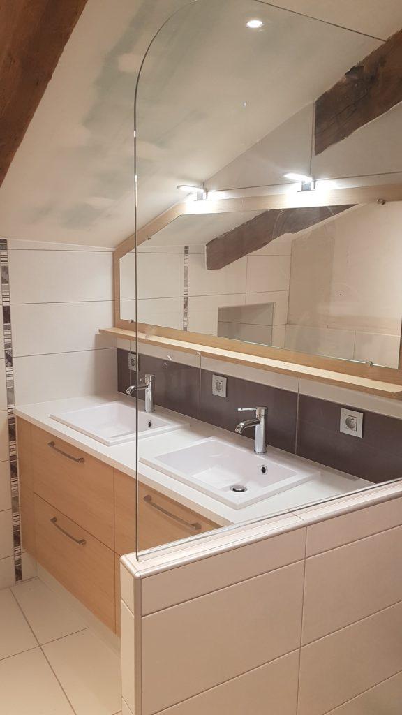 Fabrication de meuble de salle de bains sur mesure